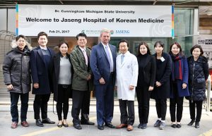 The Global Affairs office - Jaseng Hospital of Korean Medicine