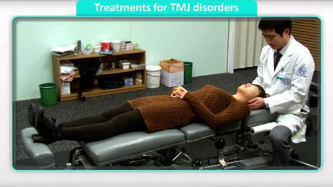 Treatment for TMJ disorders (Temporomandibular Joint Syndrome)