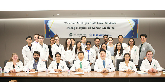 Osteopathic Medical Students from Michigan State University Visit