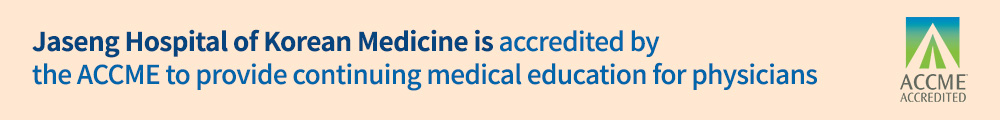 Jaseng Hospital of Korean Medicine is accredited by the ACCME to provide continuing medical education for physicians